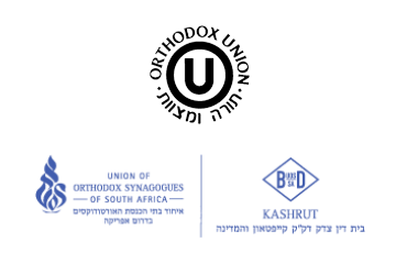 Baobab Foods and our products are certified Kosher